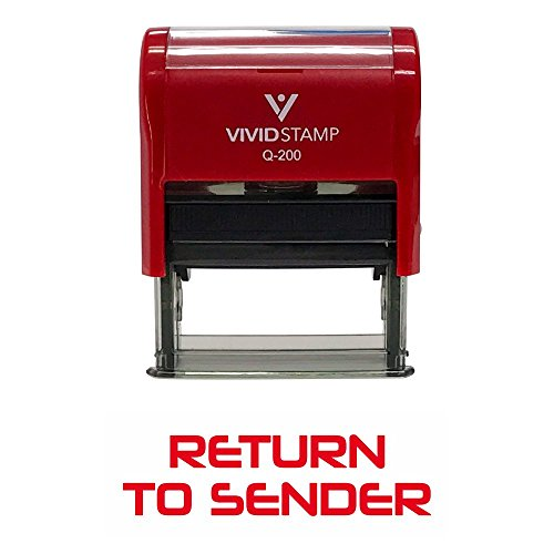 Return To Sender Office Self-Inking Office Rubber Stamp