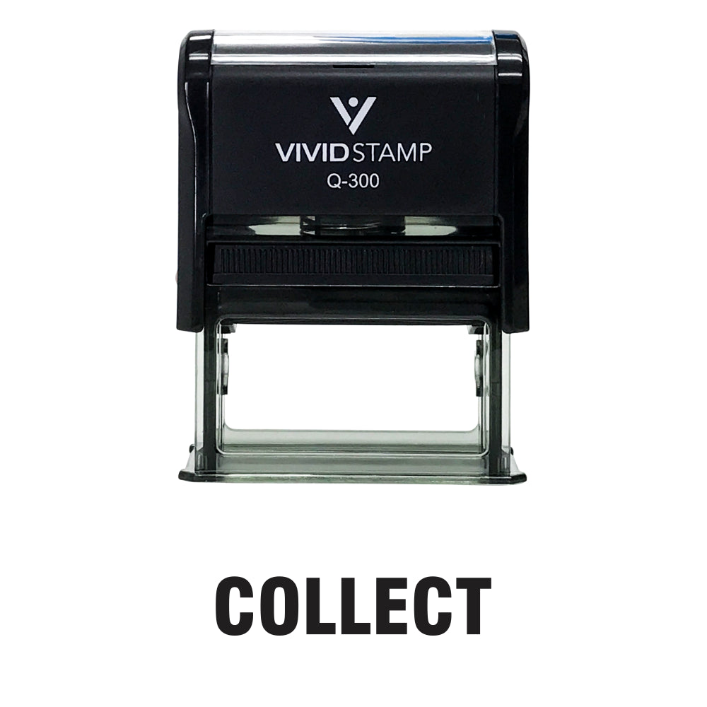 COLLECT Self Inking Rubber Stamp