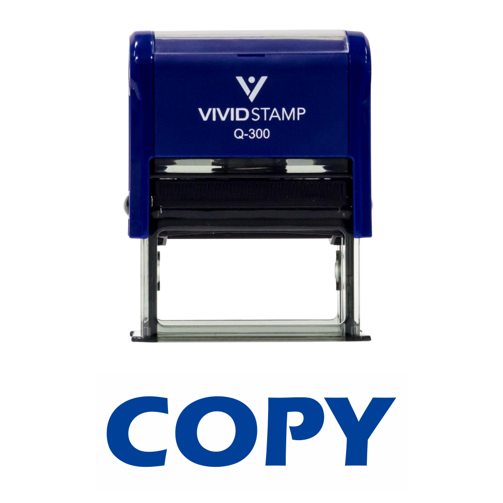 Copy Self Inking Rubber Stamp