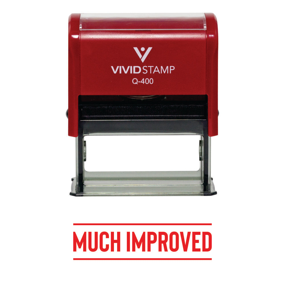 Much Improved Self-Inking Rubber Stamp
