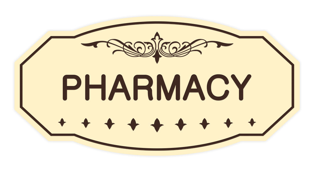 Victorian Pharmacy Sign