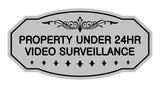 Victorian Property Under Surveillance Sign