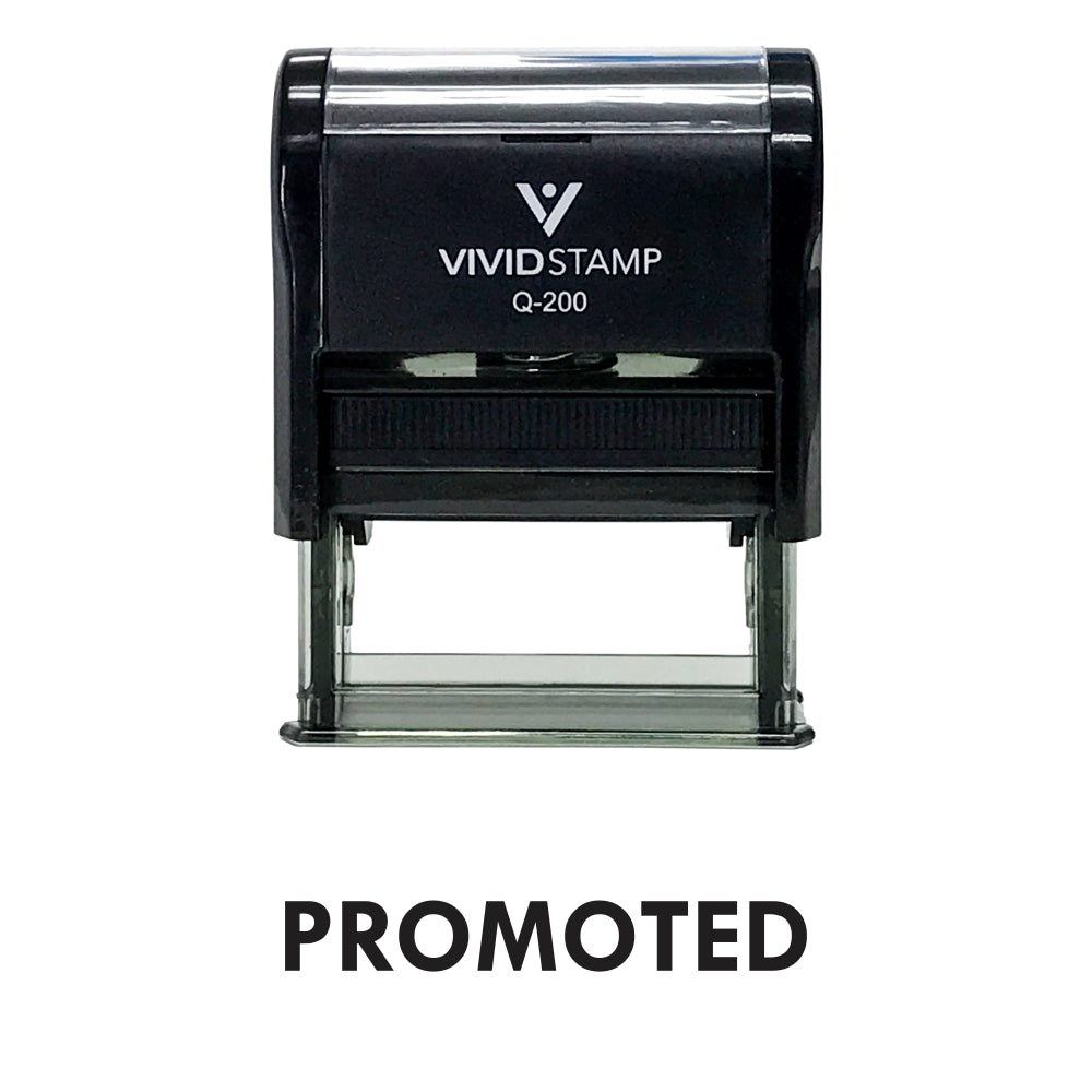 Promoted Self Inking Rubber Stamp
