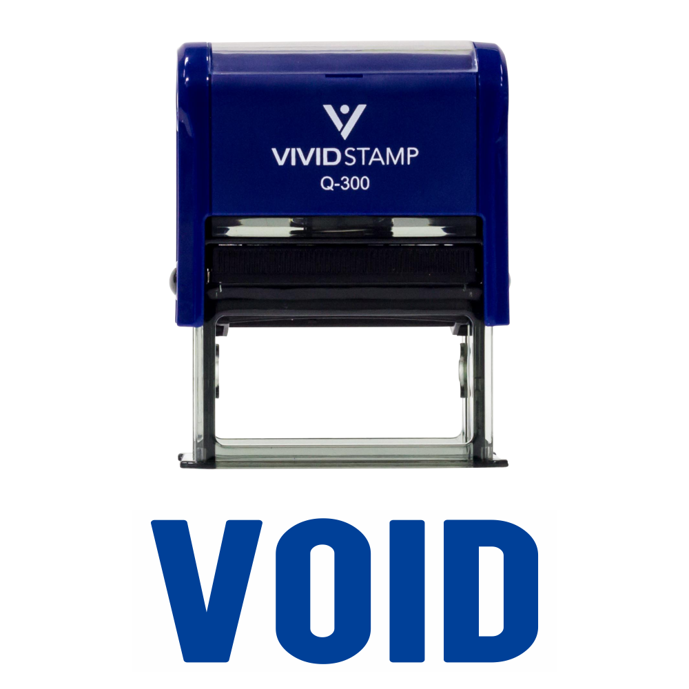 Basic VOID Self Inking Rubber Stamp