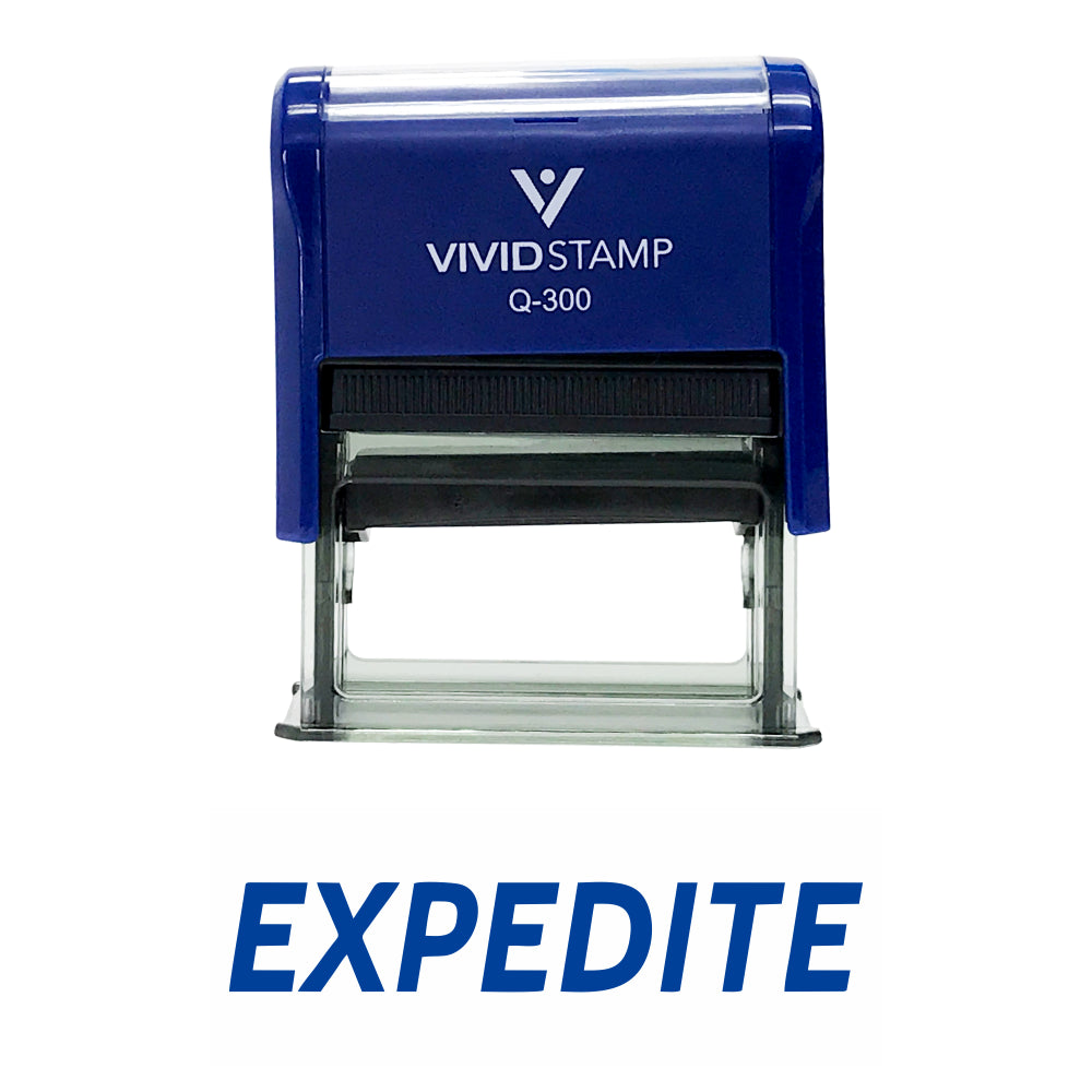 Expedite Self Inking Rubber Stamp