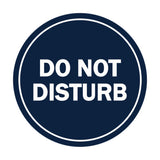 Signs ByLITA Circle Do Not Disturb Sign