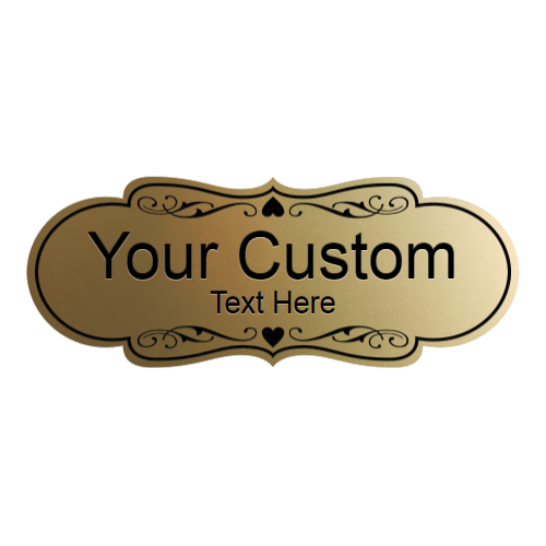 Office Signs - Custom Engraved By Style - Designer