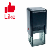 Square LIKE Self Inking Rubber Stamp
