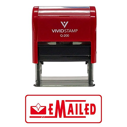 Emailed Designer Office Self-Inking Office Rubber Stamp