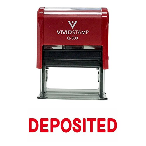Deposited Self Inking Rubber Stamp