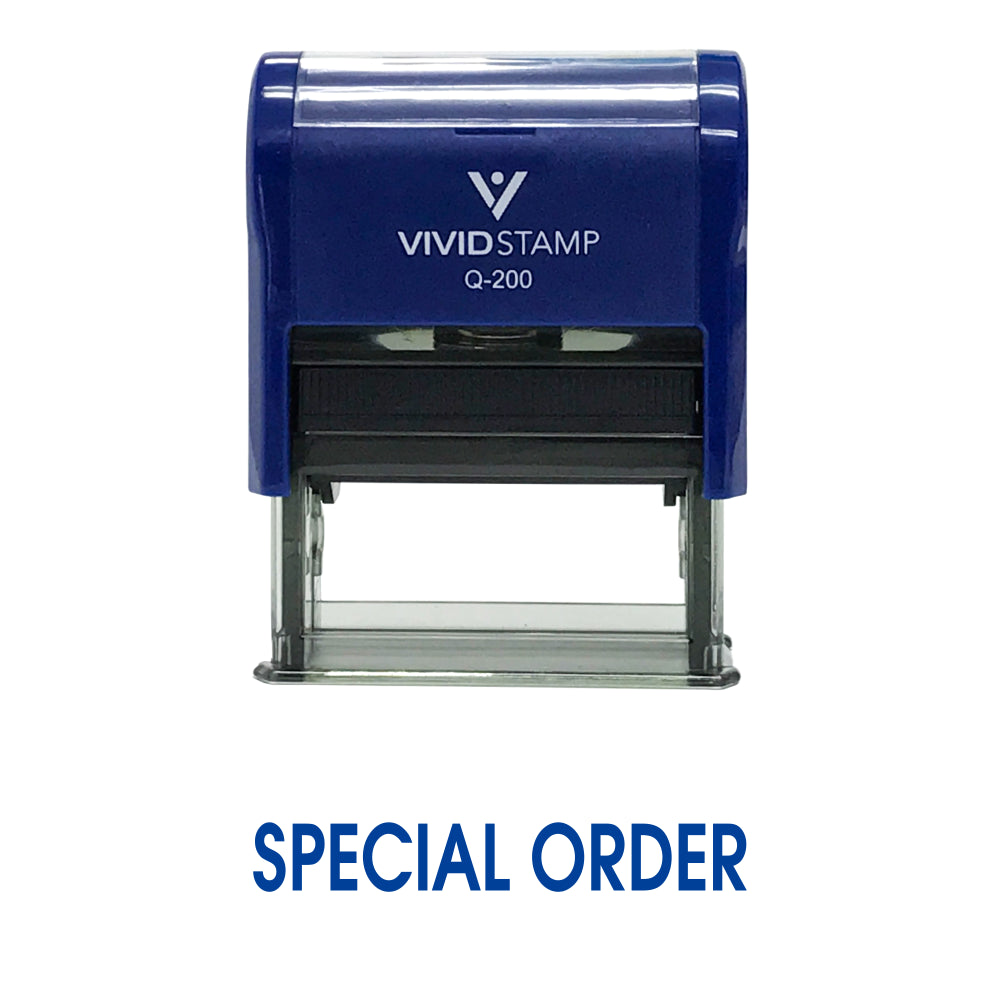 Special Order Self Inking Rubber Stamp