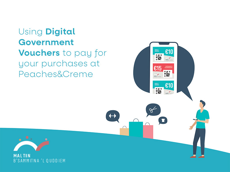 How to use your Digital Government Vouchers in store