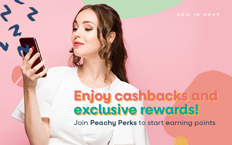 Join Peachy Perks to earn points