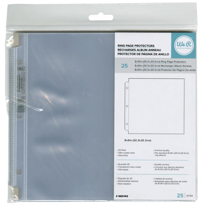 We R Memory Keepers Page Protectors - 8 x 8