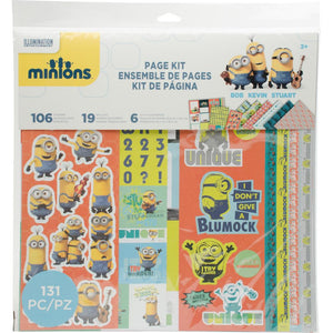 EK Success Minions Page Kit