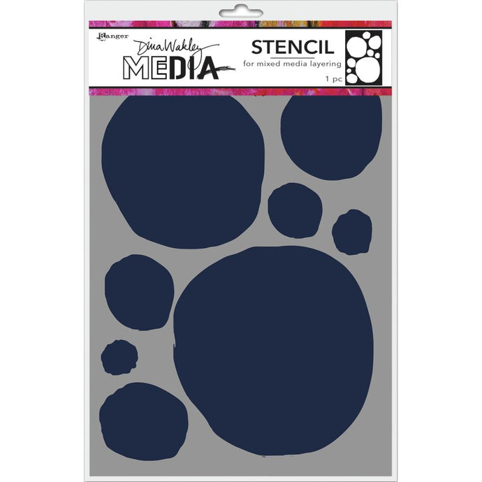 Dina Wakley Media Stencils - Circles for Painting