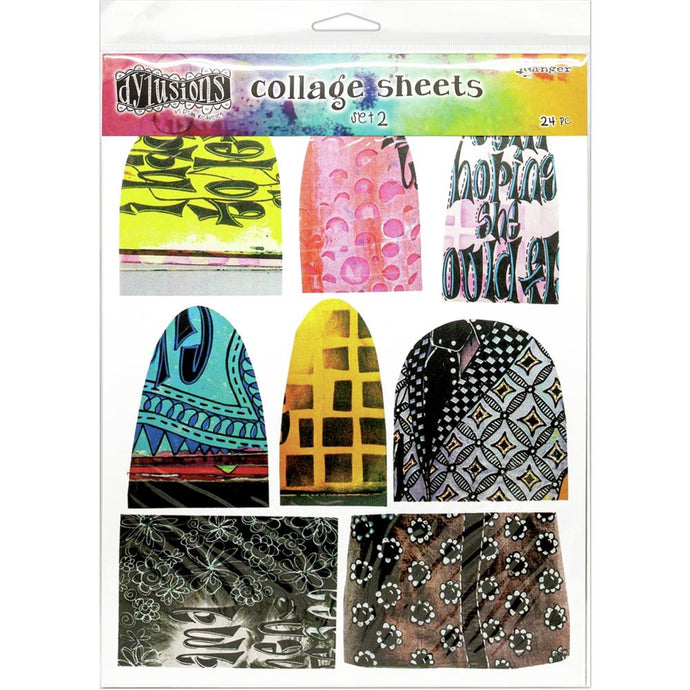 Dylusions Collage Sheets