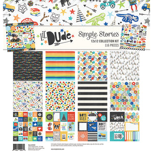 Simple Stories Lil Dude Collection Kit