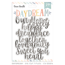 Load image into Gallery viewer, Cocoa Vanilla Studio - Daydream - Die Cut Titles