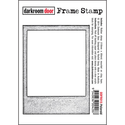 Darkroom Door Frame Stamp