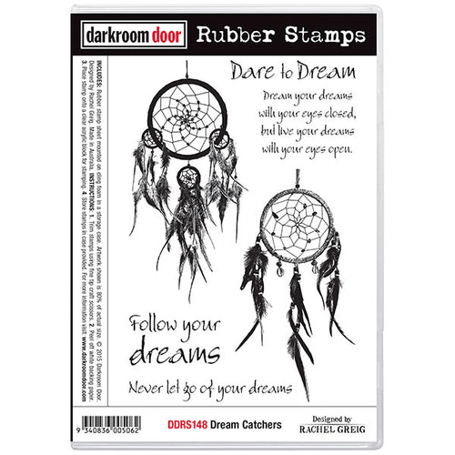 Dark Room Door Stamps - Dream Catchers