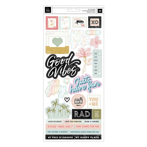 Heidi Swapp Old School - Stickers