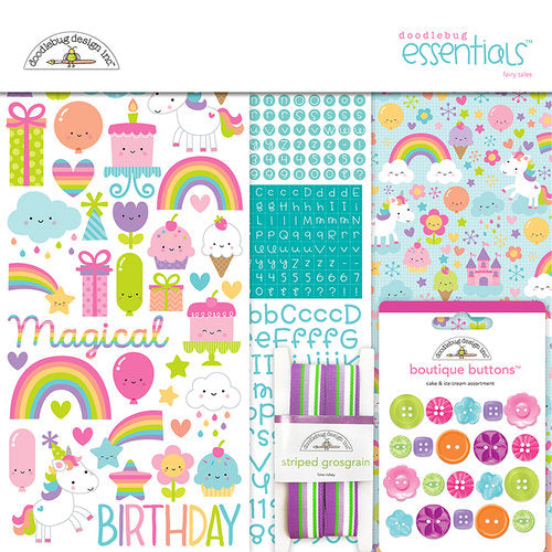 Doodlebug Essentials Kit - Fairy Tales