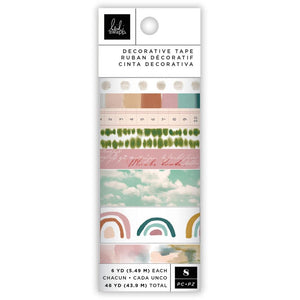 Heidi Swapp - Care Free - Washi Tape Rolls - PREORDER