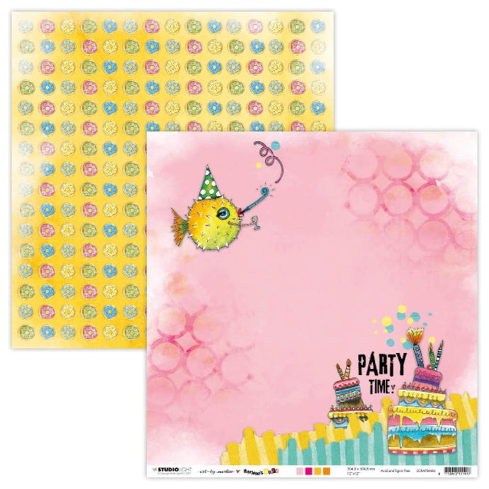 Art by Marlene - Marlene's World - Patterned Paper - Party