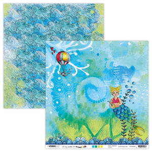 Art by Marlene - Marlene's World - Patterned Paper - Marlene's Mermaid