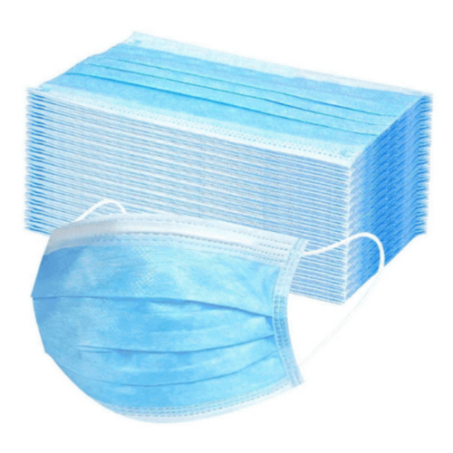 Disposable 3-Ply Face Masks (50 Pack) - THink Aesthetics