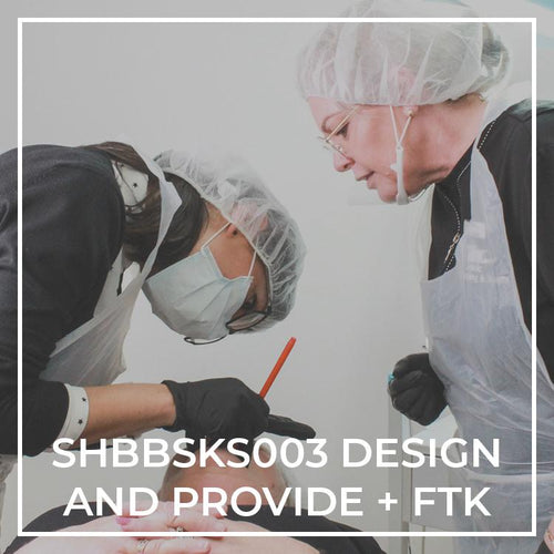 SHBBSKS003 | Design and Provide Cosmetic Tattooing + Feather Stroke - THink Aesthetics