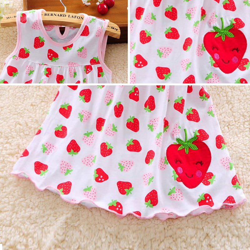 Casual dress for 0-24 months girls