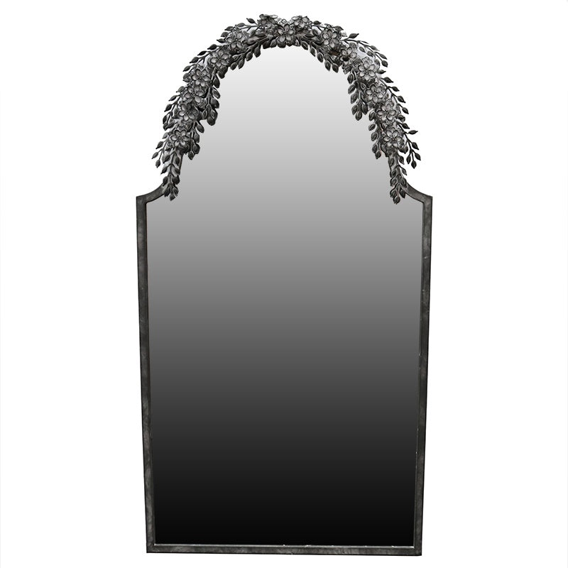 MIRROR - Fern - Black 71x135cm