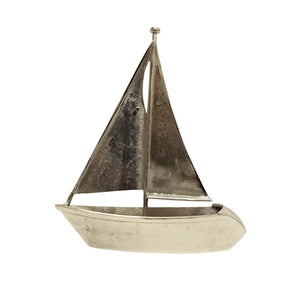 Sail Boat - Pewter - 47cm