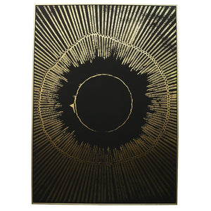 ART - ABSTRACT - Black/Gold