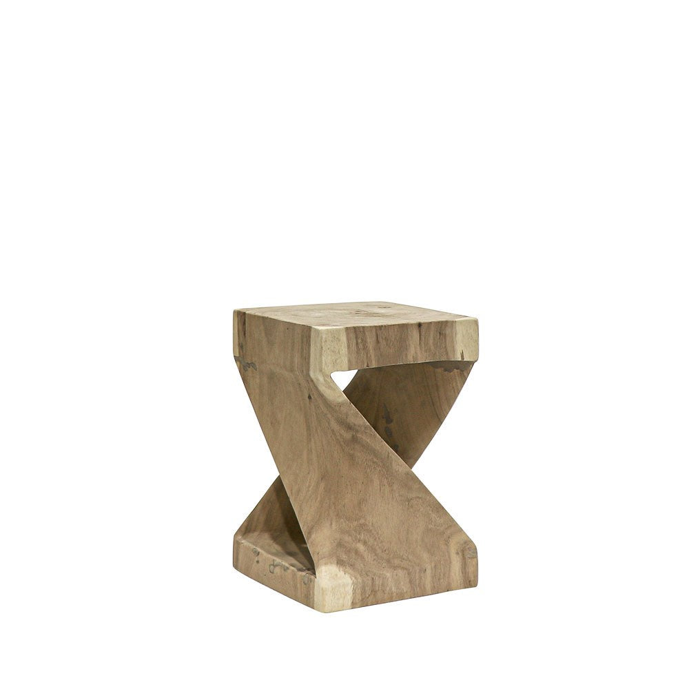 Side Table - Wood - Twist