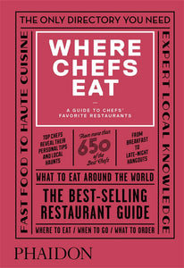 Book - Where Chefs Eat