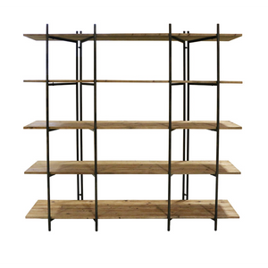 Folding Double Bay Shelf - 200x180cm