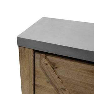 Side Board - Acacia & Concrete
