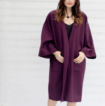 Load image into Gallery viewer, Kimono - Wool Blend - NZ MADE