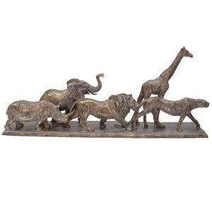 Wild Animals Sculpture - Bronze