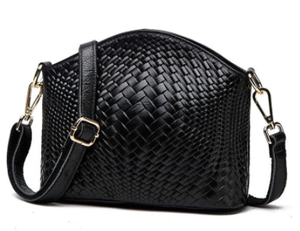 Bag - Weave - Leather Cross Body