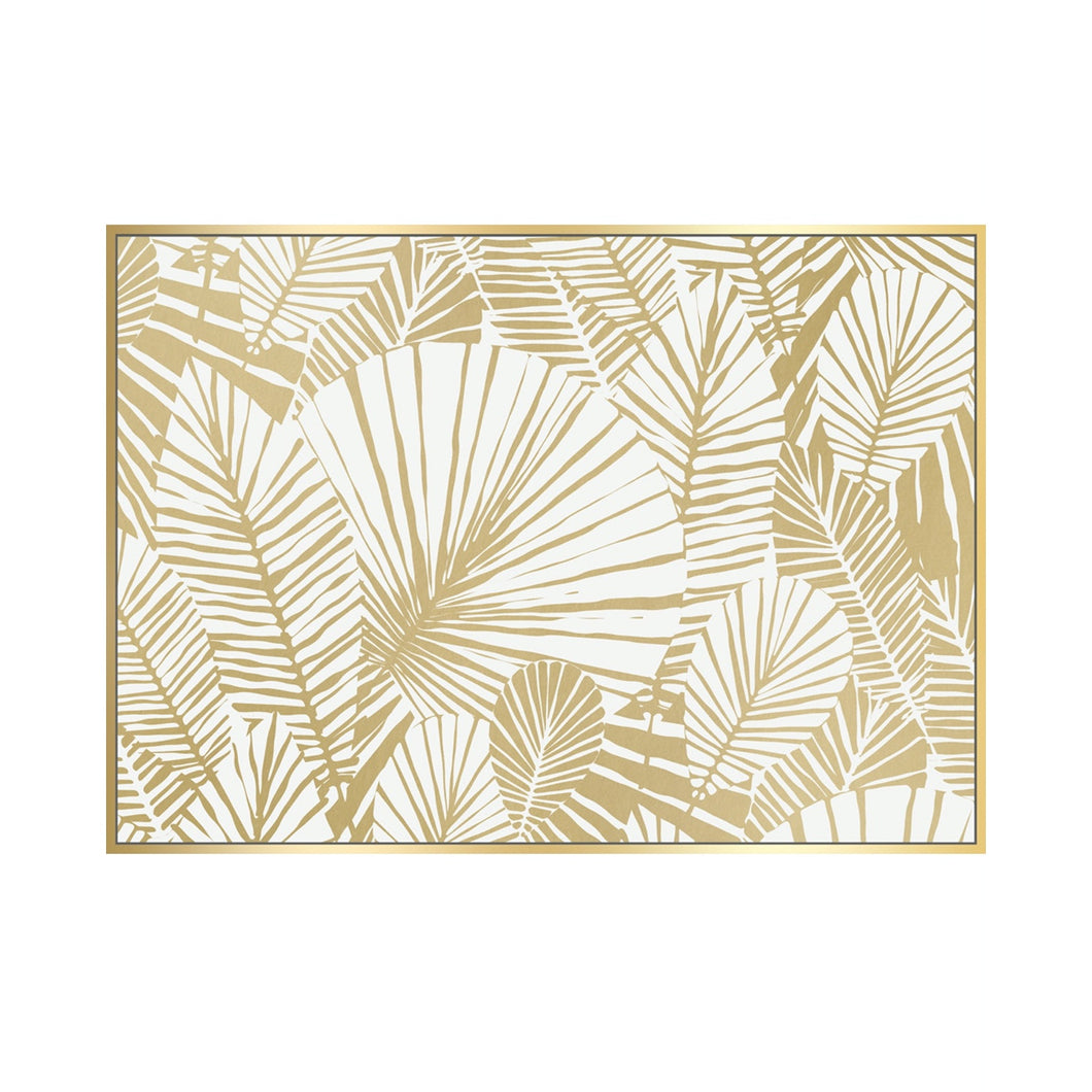 Wall Art - Fanned In Gold - 62x92cm
