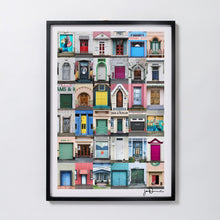 Load image into Gallery viewer, Wall Art - Ahuriri Doors - Core Frame - 60x90cm