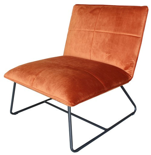 Occasional Chair - Luna - Rust
