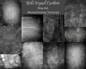 Digital Backgrounds and Textures Monochrome