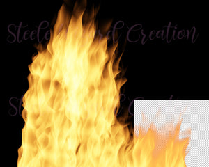 Fire Flames Overlays