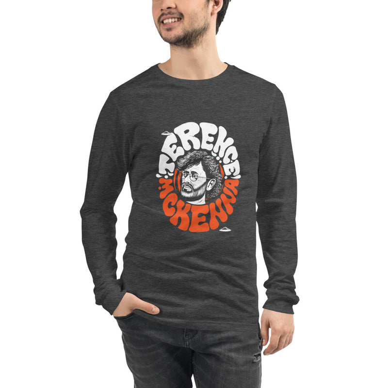 "Terence McKenna ""Gnomes"" Unisex Long Sleeve Tee"