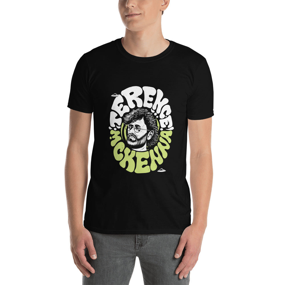 "Terence McKenna ""Is it strong enough, asshole?"" Lime Unisex T-Shirt"
